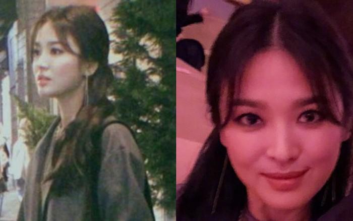 Ảnh chụp vội góc nghiêng của Song Hye Kyo tại New York: Quá xuất sắc, nhưng lại ...