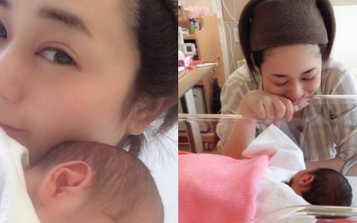 """""""Thánh nữ JAV"""" Aoi Sora khoe 2 quý tử vừa mới chào đời, tiết lộ điều hạnh ..."""