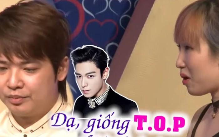 """Netizen """"náo loạn"""" với anh chàng giống T.O.P (Big Bang), khác mỗi... cái ..."""