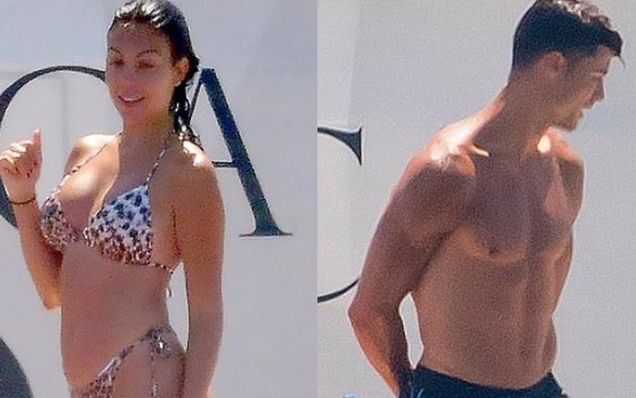 Bắt gặp Ronaldo và bạn gái siêu hot du lịch Hy Lạp, body cực phẩm của cặp đôi chiếm ...