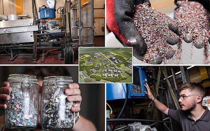 Đột phá siêu to khổng lồ cho Trái đất: Tất cả rác nhựa không thể tái chế ...