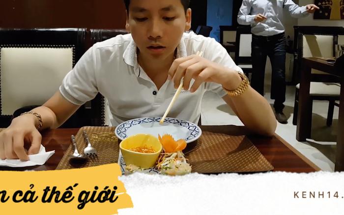 Khoa Pug review nhà hàng ở Ai Cập nhưng lại gặp món Việt