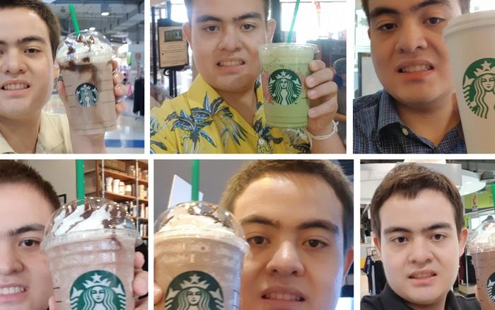 Suốt 3 năm, thay 30 ava nhưng full bộ là tự sướng với cốc Starbucks, fan cuồng này phải chăng ...