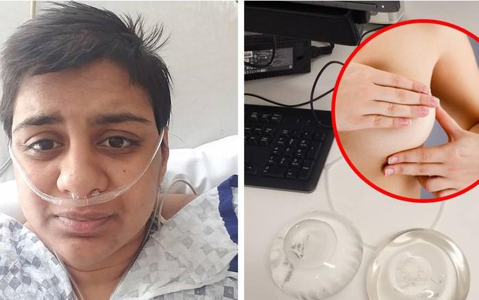 Cô gái 23 tuổi phát hiện mình mắc ung thư vú sau khi bạn trai chạm tay vào ...