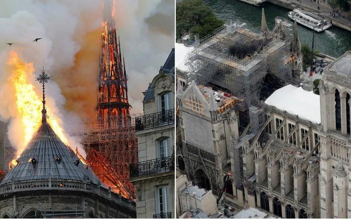 Nhà thờ Đức Bà Paris sau 3 tháng bị ngọn lửa nhấn chìm: Khung cảnh ảm đạm đến lạ, ...