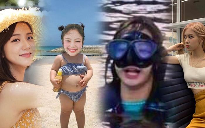BLACKPINK mặc đồ bơi kín mít ở Hawaii chính là chúng ta mỗi khi đi biển, ước ...