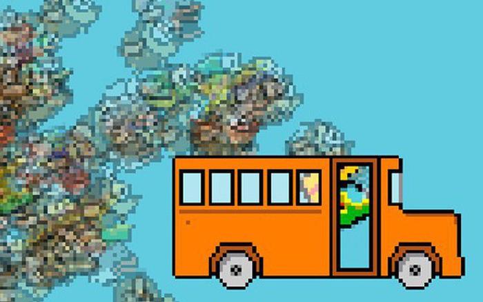 """Flappy Bird huyền thoại vừa """"hồi sinh"""" thành game sinh tồn như PUBG: 1 chọi 100, tha hồ ..."""