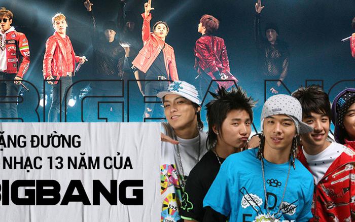 Chặng đường 13 năm làm nên kỷ nguyên âm nhạc mang tên BIGBANG