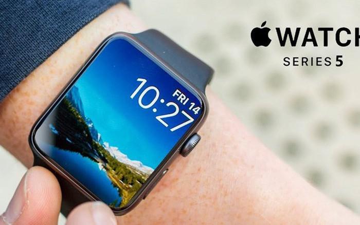 Bắt được hình ảnh rò rỉ đầu tiên về Apple Watch Series 5, màn hình cong ...