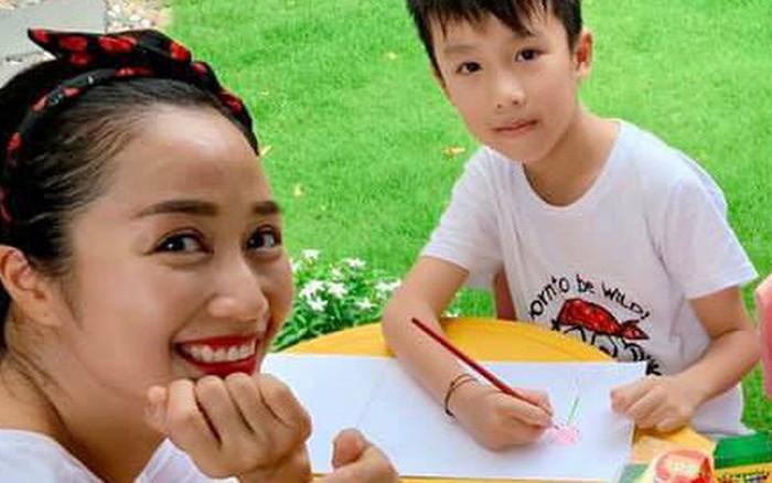 Ốc Thanh Vân kể chuyện con trai 8 tuổi lo lắng vì vụ cháy rừng Amazon