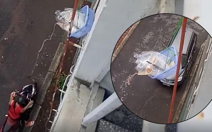 Nhân tố vàng trong làng nhận ship: Buộc giỏ thả xuống sân nhận trà sữa, các ...