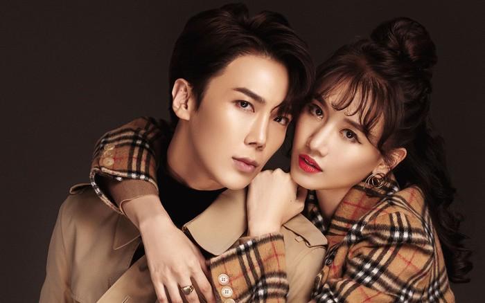 Hari Won ôm ấp trai đẹp Park Jung Min của SS501 cự ly cực gần, netizen hồi hộp theo dõi phản ...