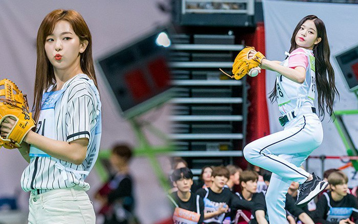 Không ngờ môn bóng chày tại đại hội thể thao Idol lại quy tụ toàn mỹ nhân ...
