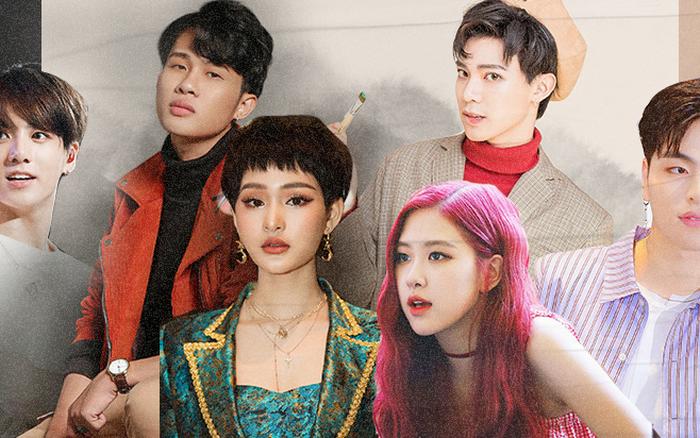 Thử so sánh những cặp idol Việt - Hàn sinh năm 1997: Cặp sở hữu giọng ca khủng, cặp có ...