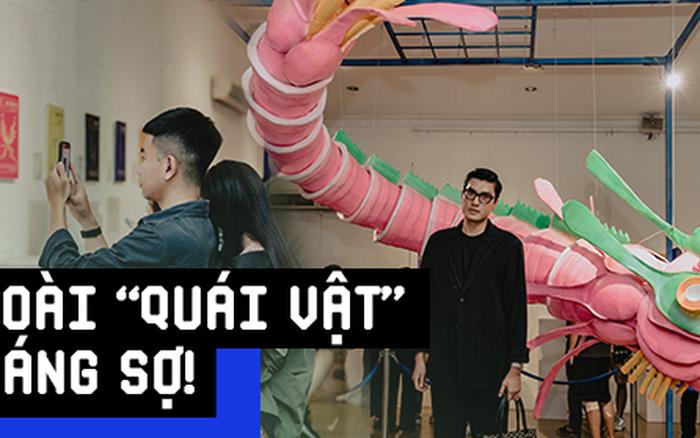 Giới trẻ Sài Gòn mãn nhãn với hàng loạt tác phẩm 3D tại triển lãm ...