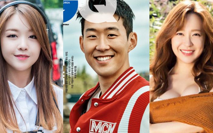 Son Heung Min dính tin hẹn hò Jisoo: Siêu giàu, thân vs Park Seo Joon