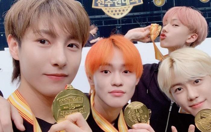 NCT là nhóm nhạc đỉnh nhất đại hội thể thao Idol 2019 khi ôm huy chương vàng một ...