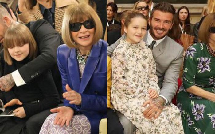 Gia đình Beckham dắt nhau đi sự kiện của mẹ: Harper nổi nhất nhà, gây choáng với ...