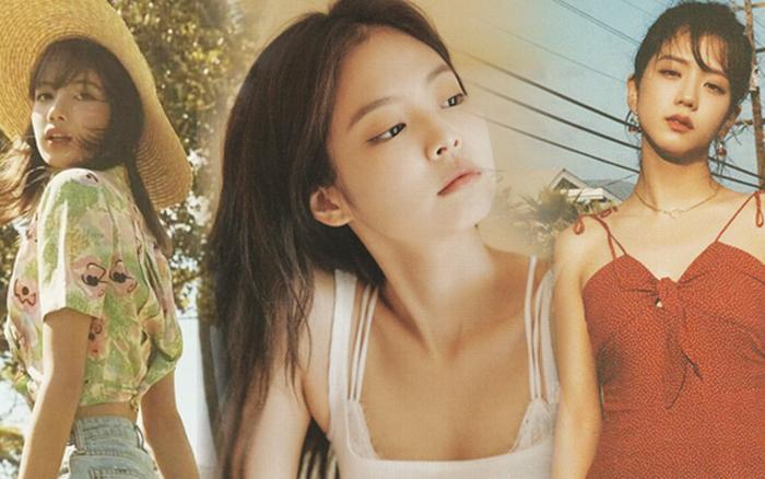 BLACKPINK gây bão vs bộ ảnh mùa hè: Ji Soo bùng nổ nhan sắc, Lisa, Jennie lột ...