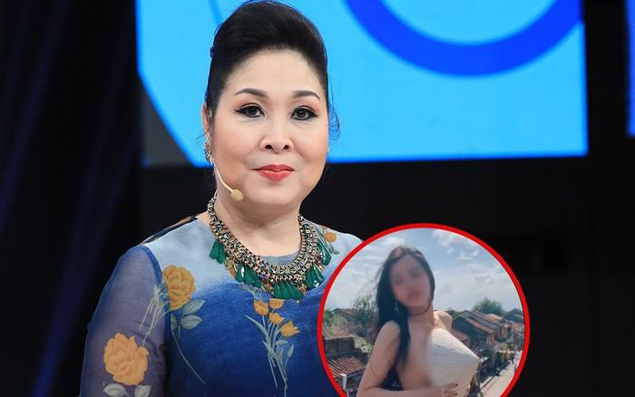 """NSND Hồng Vân lên tiếng việc """"hot girl"""" bán khỏa thân quay clip phản cảm ở ..."""