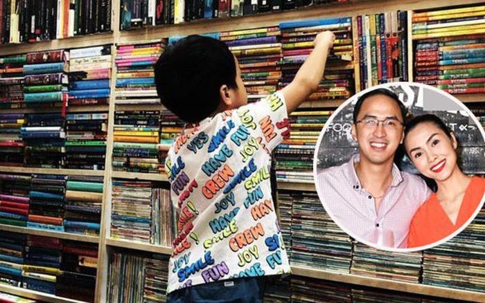 Louis Nguyễn hạnh phúc khoe con trai háo hức lựa sách, thay lời chứng minh ...