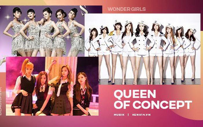 """Nhóm nữ nào xứng đáng với danh hiệu """"Queen of Concept"""" của Kpop?"""