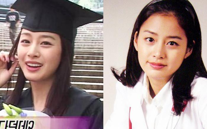 Nhan sắc thật của Kim Tae Hee hồi học đại học: Thần thánh đến mức nào mà khiến cả trường ...