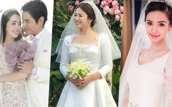 """Bóc giá váy cưới cô dâu mới nhà trùm showbiz Hong Kong: """"Rẻ ..."""