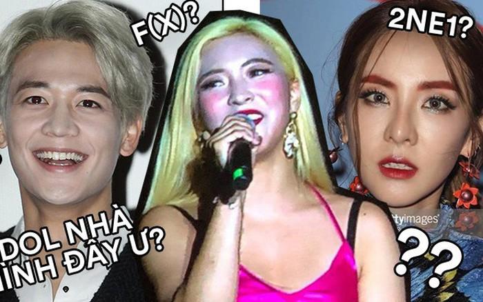 Ai ngờ dàn idol cực phẩm cũng dọa fan chạy mất dép vì mặt trắng bệch: Luna như đóng ...