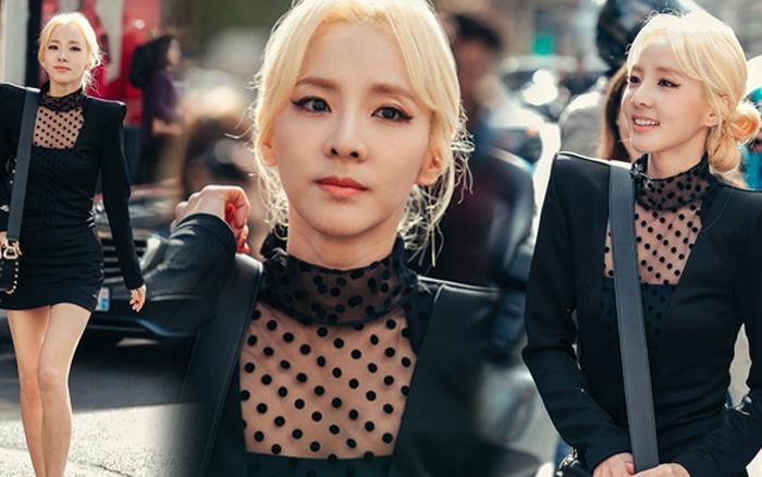 Khi dân tình mải mê vì BLACKPINK, Dara (2NE1) U40 mà vẫn khiến cả một vùng ...