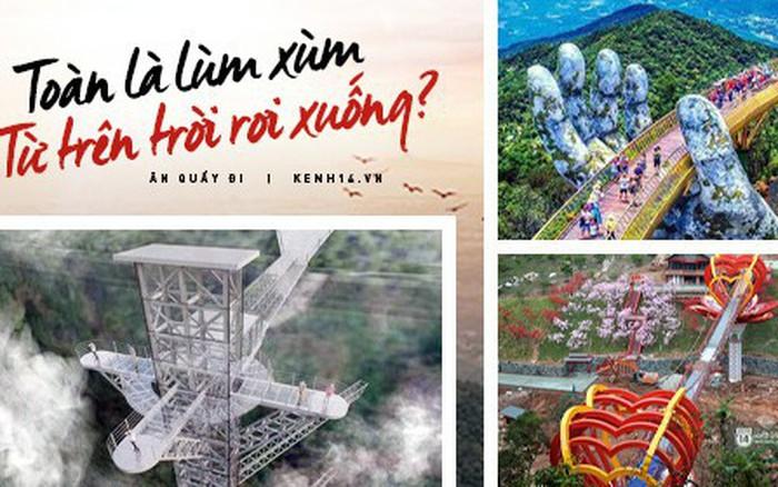"""3 cây cầu lùm xùm nhất Việt Nam 2019: """"Scandal đạo nhái"""" Cầu Vàng Đà Nẵng, ..."""