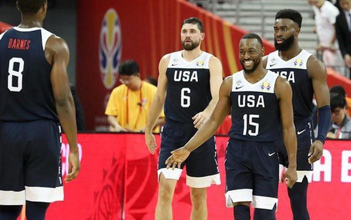 Thắng dễ Cộng hòa Czech, Mỹ khởi đầu thuận lợi tại FIBA World Cup 2019