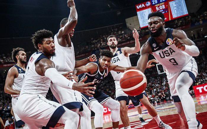 Nghiền nát Giannis Antetokounmpo, Mỹ hiên ngang tiến vào vòng loại trực tiếp FIBA ...