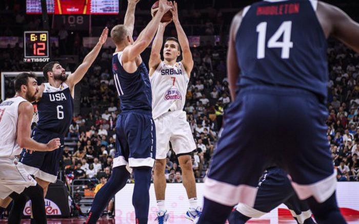 Siêu xạ thủ của Serbia lên tiếng, Mỹ nhận trận thua thứ 2 liên tiếp tại FIBA World Cup 2019