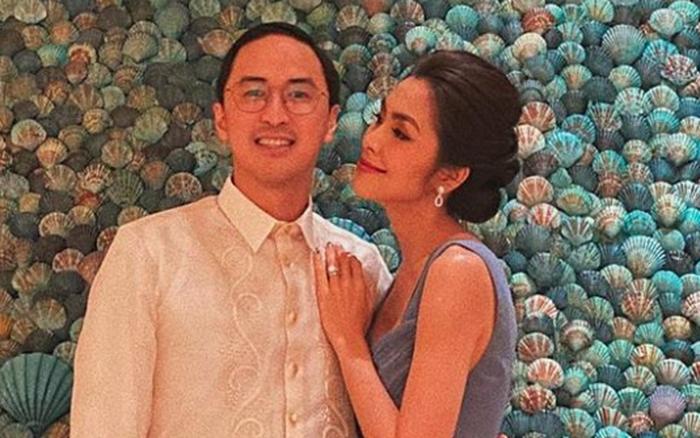 """Hà Tăng khoe sắc bên Louis Nguyễn trong tiệc cưới """"gia đình triệu đô"""", ..."""