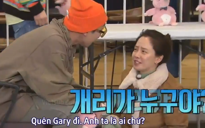 """Bất ngờ bị nhắc đến """"tình cũ"""", Song Ji Hyo phũ thẳng: """"Quên Gary đi. Anh ta ..."""