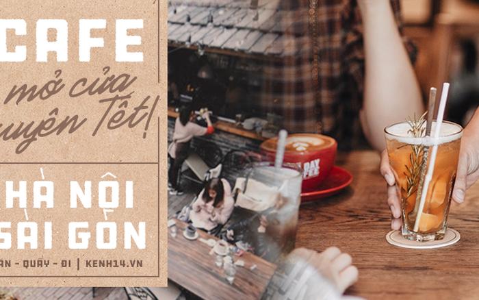 Có tới gần 300 quán cafe và trà sữa mở cửa xuyên Tết ở Hà Nội và ...