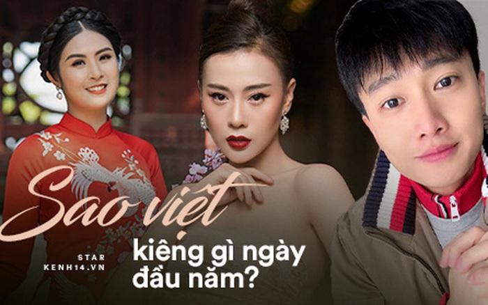 Sao Việt kiêng gì ngày Tết: Ngọc Hân, Bình An không nói điều xui xẻo, ...
