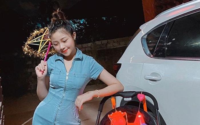 Nhật Linh khoe dáng nuột nà đi chơi Trung thu, than thở khi bị