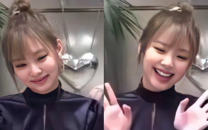 Cuối cùng Jennie (BLACKPINK) đã xuất hiện với tóc mái ngắn gây bão toàn cầu, lần này là thật hay vẫn