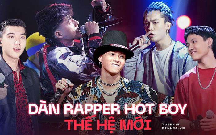 Điểm danh dàn rapper hot boy thế hệ mới của Vbiz - cực phẩm