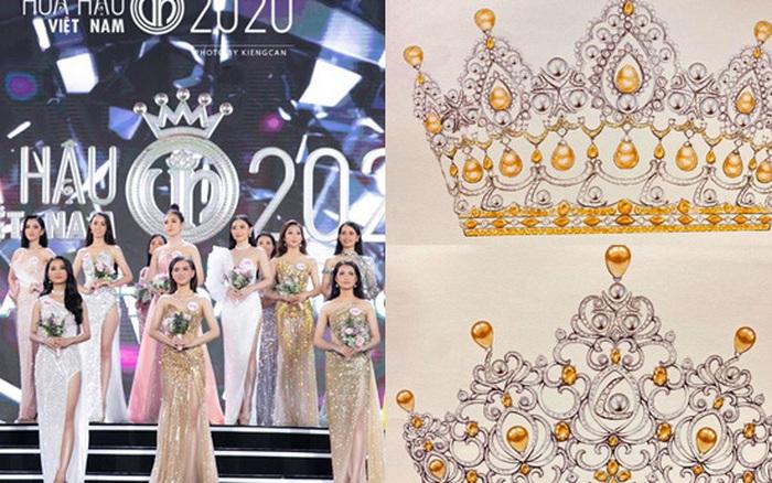 BTC chính thức hé lộ 2 bản vẽ vương miện của Hoa hậu Việt Nam 2020 trước thềm chung kết