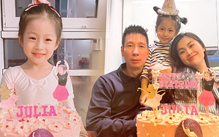 Diễm Trang mừng sinh nhật con gái ở nước ngoài, nhan sắc ái nữ qua camera thường gây sốt