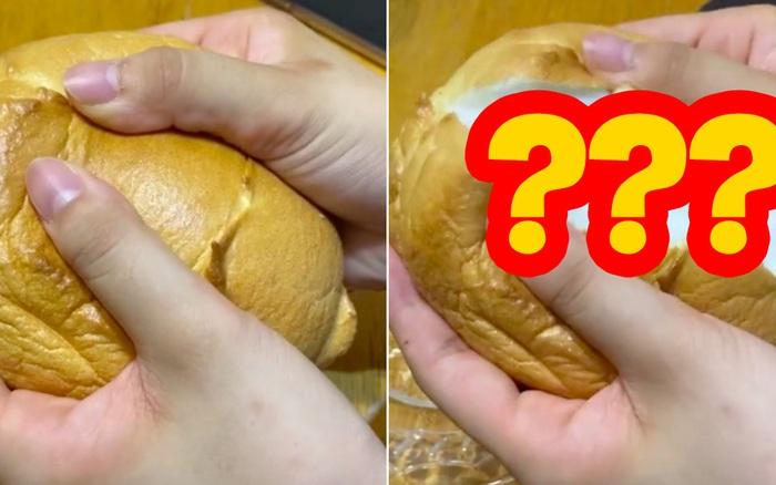 """Nhật Bản quả là """"xứ sở của sự hoàn hảo"""": Chỉ một cái bánh mì bẻ đôi cũng khiến dân mạng thán phục vì một lý do"""