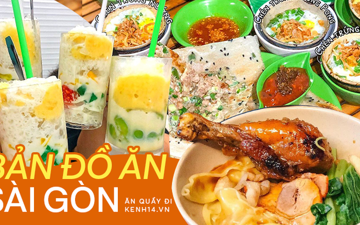 6 con đường ăn uống sầm uất bậc nhất Sài Gòn, chống chỉ định đi vào ban đêm vì có nguy cơ… tăng cân chóng mặt!