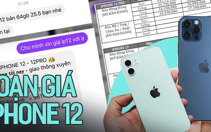 Thị trường iPhone 12 xách tay tại Việt Nam đìu hiu, con buôn chủ yếu đang thăm dò