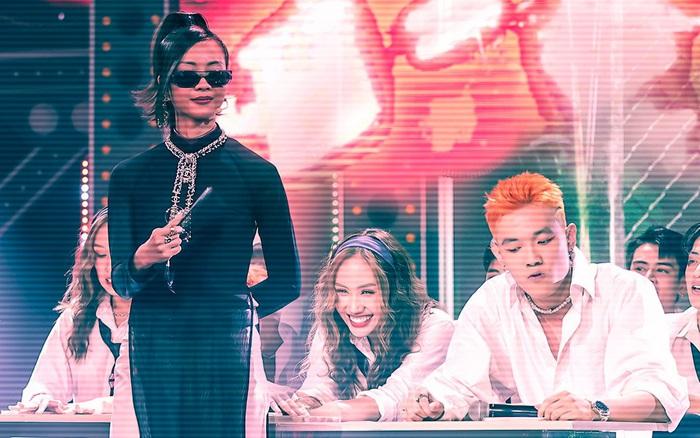 Rap Việt hóa thành lớp học sau phần thi của trai đẹp Tage,