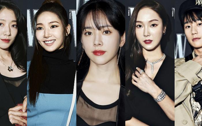 Gần nửa Kbiz đổ bộ sự kiện khủng: Park Min Young mặt cứng đờ, Jessica bị chê