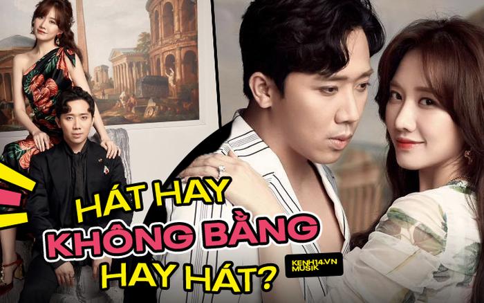 Làm ca sĩ kiểu Trấn Thành - Hari Won: Chồng hát nghiêm túc bị chê