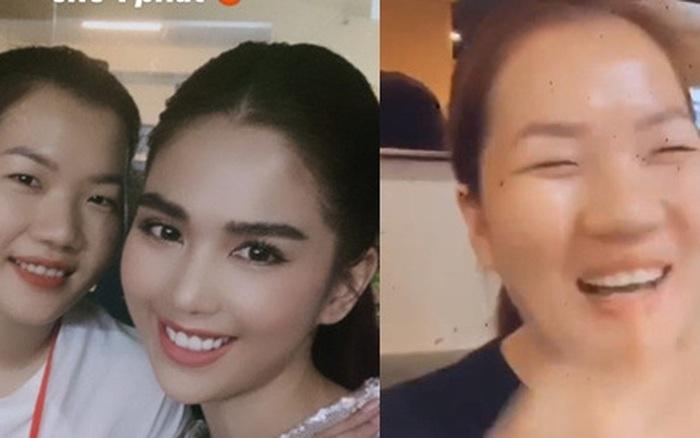 Sau màn debut, Thúy Kiều chính thức có tick xanh xịn xò trên Facebook, Ngọc Trinh mở luôn tiệc ăn mừng